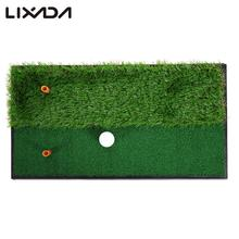 Indoor Mini Golf Tee Golf Training Mat Fairway Rough Turf Backyard Golf Mat Practice Rubber Tee Holder Grass Training Mat(China (Mainland))