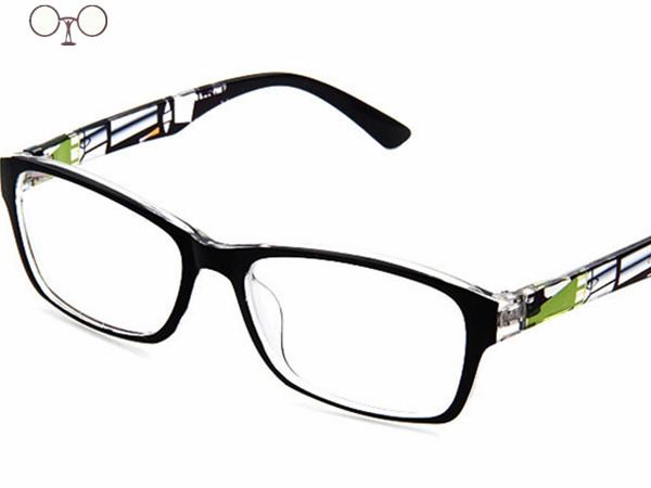 Large Frame Computer Glasses : 2015 hot brand design plain glasses men women eyeglasses ...