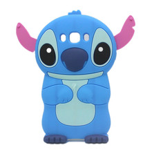 Buy Lovely 3D Cartoon Soft Rubber Skin Silicon Silicone Cute Stitch Case Cover Samsung Galaxy J3 J5 J7 2016 Movable Ear for $3.49 in AliExpress store