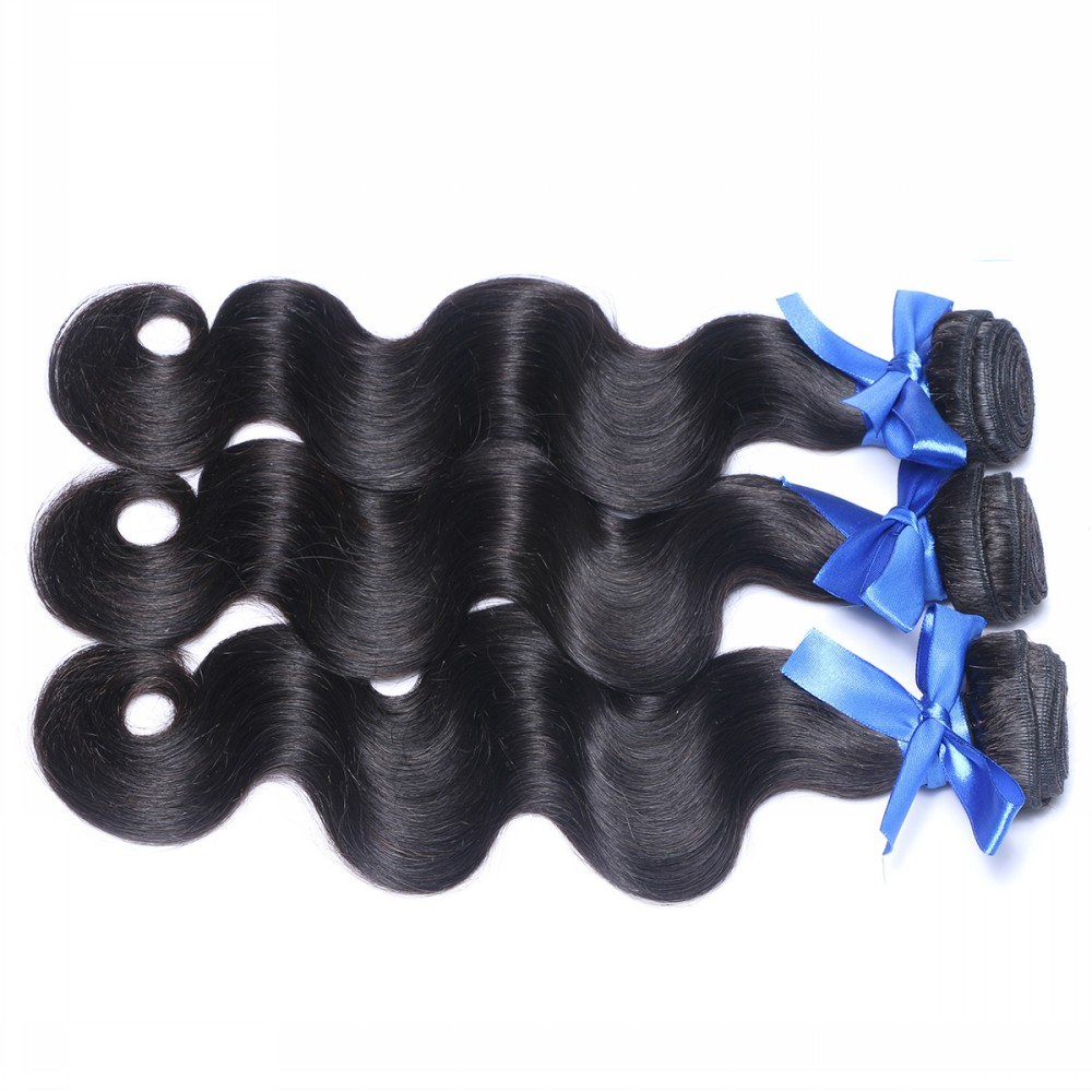 Top 6A Grade Magic Virgin Hair Products Body Wave 3Pcs Malaysian Body Wave Unprocessed Human Hair Extension Free Shipping<br>