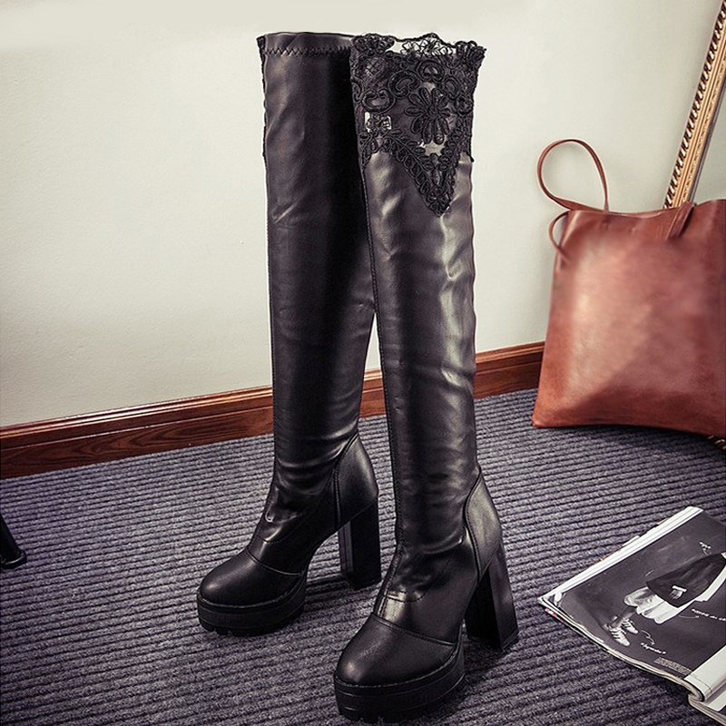 Nice Leather Winter Boots | Santa Barbara Institute for