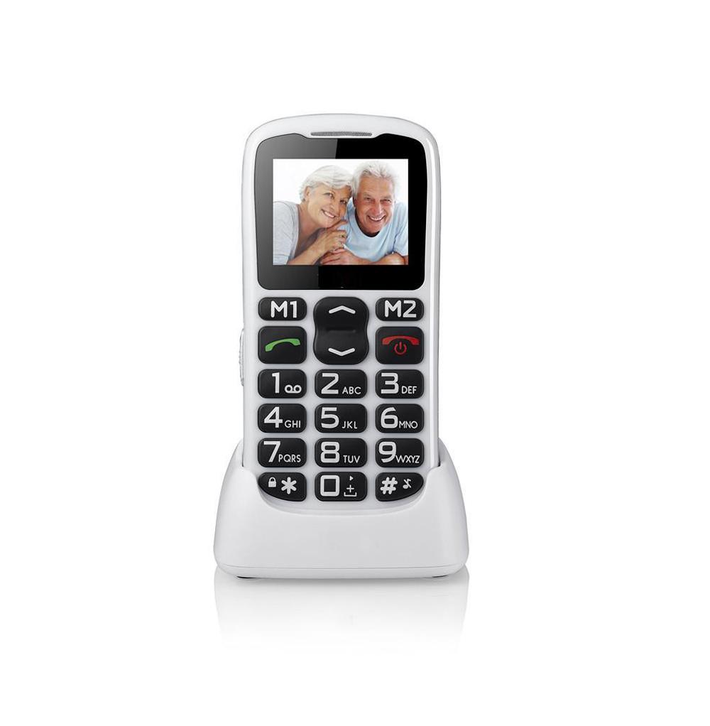 FSMART bar cell phone single sim GSM 1.8inch 0.3MP camera 700mah big battery long standby for senior old man mobile phone(China (Mainland))