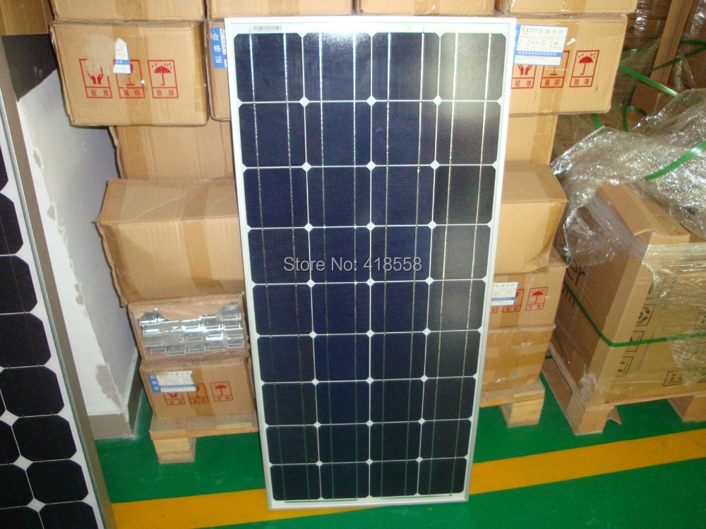 300w monocrystalline solar panel 18V 17% charge efficiency(China (Mainland))