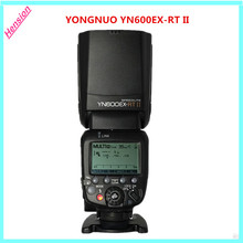 Buy 2017 NEW YONGNUO YN600EX-RT II 2.4G Wireless HSS 1/8000s Master TTL Flash Speedlite Canon Camera 600EX-RT YN600EX RT II for $109.61 in AliExpress store