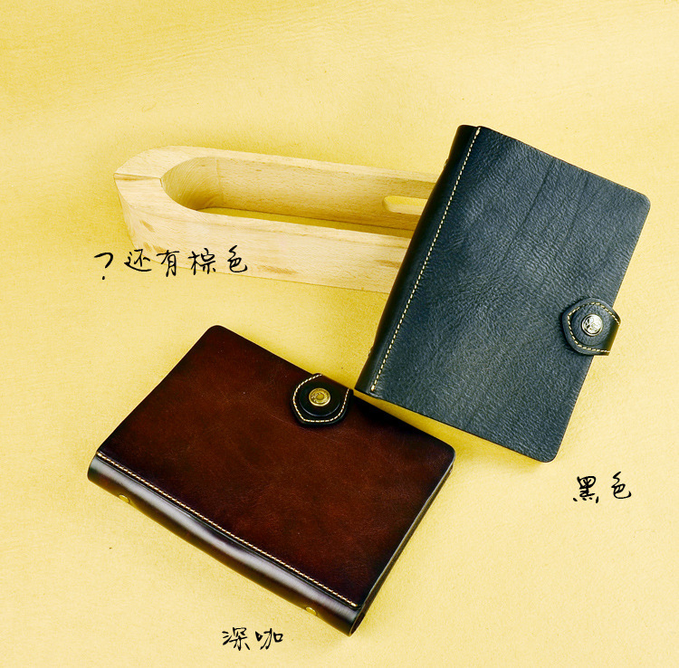 Free shipping high-end vegetable tanned leather thick leather handmade, vintage notebook<br><br>Aliexpress