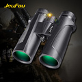 JouFou 12X42 High Quality Telescope High Power Shockproof Wide angle No Night Vision Binocular Vertical Tube