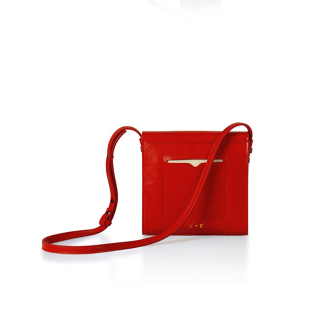 Women Messenger Bags 2015 Solid Flap Fresh Bag Genuine Leather Black Red Patchwork Handbag Fashion Casual Lady Party Handbags(China (Mainland))