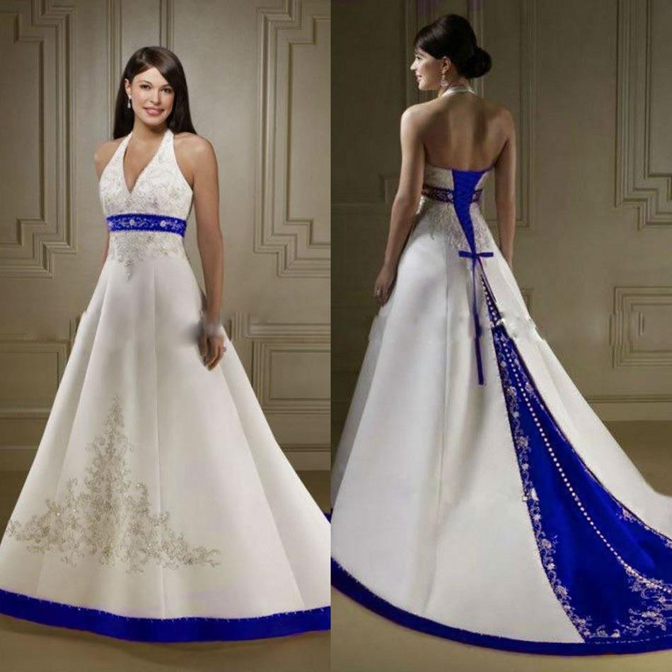 Big Size V-Neck Wedding Dresses 2016 Embroidery Wedding Gown A-Line Lace Up Picture Color Wedding Dresses 20W 22W 24W 26W 28W(China (Mainland))
