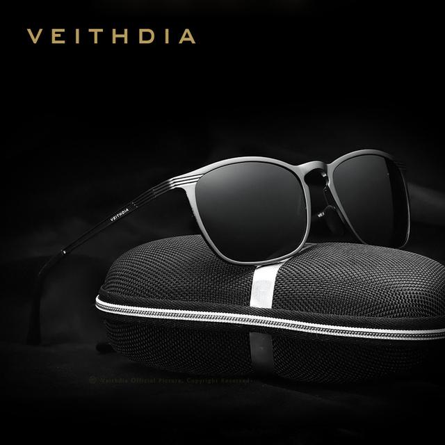 2016 лето VEITHDIA модной спортивные старинные мужская поляризовыванная людей óculos ...