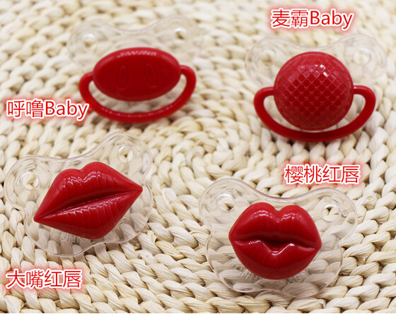2015 New Baby Pacifier Silicone Toddler Dummy Nipple Teether Funny Soothers Infant Baby Toy Chupetas Gift 1PC(China (Mainland))