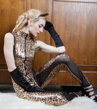 New High-Quality Sex Hot Sexy Long Paragraph sexy leopard leotard Women For Sexual Erotic Lingerie Ultimate Temptation Sleepwear