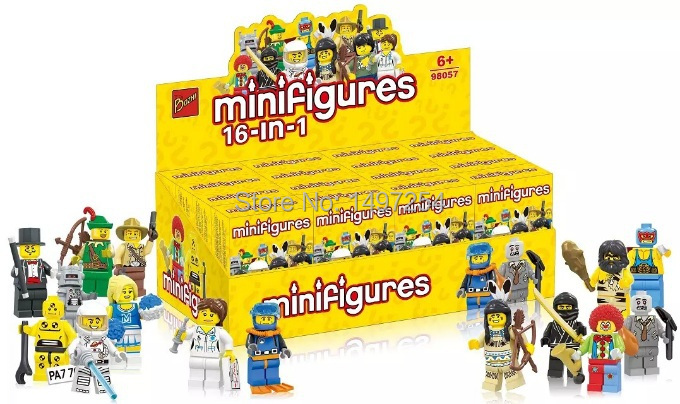 16pcs/lot Bozhi 98057 minifigures blocks assembled toys Christmas gifts for children super hero Riot police with L ego(China (Mainland))