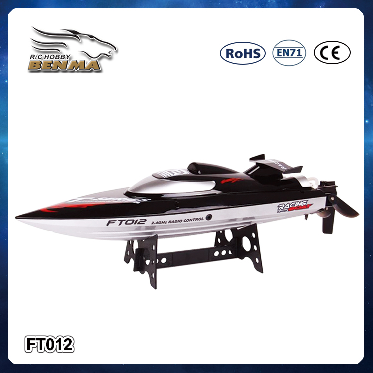 FT012 Voyager Remote Control Boat for Pools, Lakes and Outdoor Adventure - 2.4GHz High Speed 48km/h Electric RC Boat Large Size(China (Mainland))