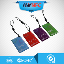 (4pcs/lot) Ntag 203 waterproof factory direct sale RFID Smart Tag for all the Enabled NFC Mobile Device * Free Shipping