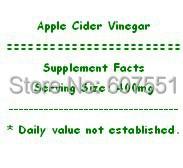 125gram (8.8oz)  High Potency Apple Cider Vinegar for weight loss<br><br>Aliexpress