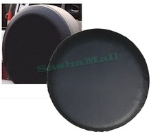 Black Spare Tire Cover 235/75r16 Spare Tyre Covers For Honda/Hummer/Isuzu/Jeep/Mitsubishi /Nissan etc. 24(China (Mainland))