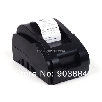AAA+ 100% New 58mm printer USB mini thermal receipt printer ticket pos portable laser printers freeshipping