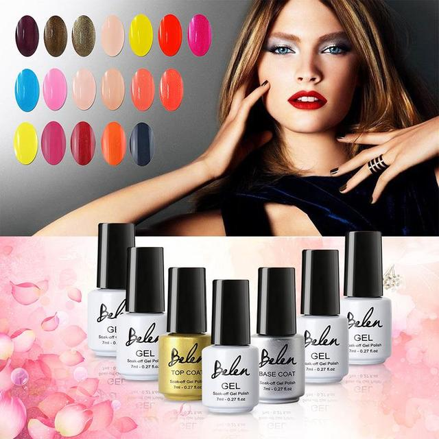 Belen 7ml UV Gel Varnish Gelishgel Nail Art For Professional Nail Gel Polish 79 UV ...