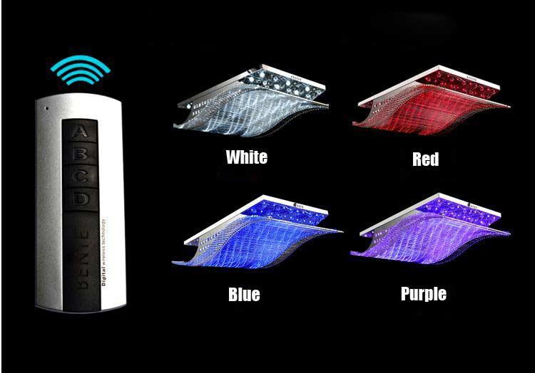 buy modern crystal chandelier led color. Black Bedroom Furniture Sets. Home Design Ideas