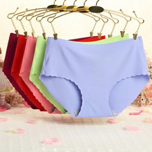 Buy Women New Ultra-thin Seamless Traceless Sexy lingerie Underwear Panties Lady BriefsWith for $1.34 in AliExpress store