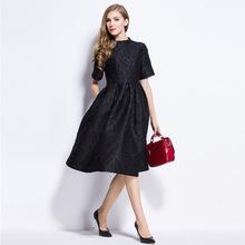 women black dress plus size women clothing online shop clothing vestido casual spring dress ladies dresses online shop china2016(China (Mainland))