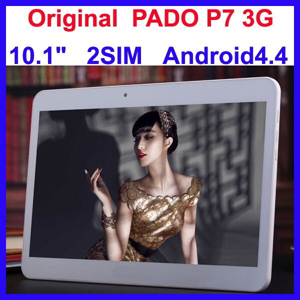 """Original Pado P7 3G Tablet PC with 2SIM 10.1"""" GPS Android 4.4 Phone Calling 10.1 inch Tablet WCDMA and GSM Multi Language(China (Mainland))"""