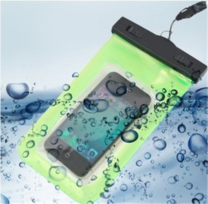 PVC Waterproof Phone Case Underwater Phone Bag For Samsung galaxy S5 S4 For iphone 4 4S 5 5S 5C 6 All mobile Phone Watch ect(China (Mainland))
