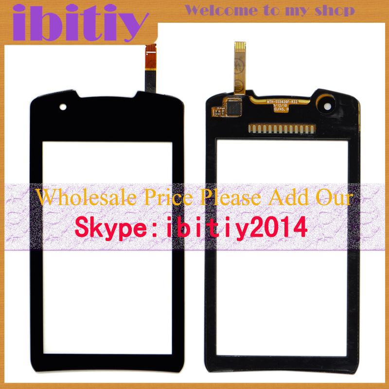 20Pcs/Lot Original For Samsung Monte 5620 S5620 Touch Screen Digitizer Sensor Front Glass Lens Black White