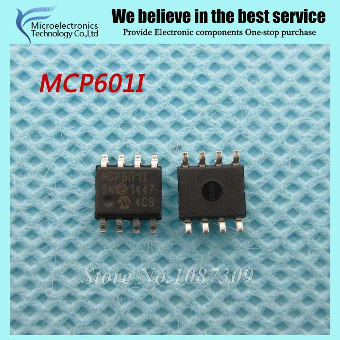 50pcs free shipping MCP601-I/SN MCP601I MCP60 SOP-8 Operational Amplifiers - Op Amps Single 2.7V new original(China (Mainland))