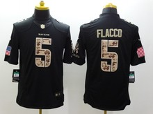 100% stitched,Baltimore Raven Joe Flacco C.J. Mosley Elvis Dumervil Eric Weddle Kamar Aiken Green Salute,camouflage(China (Mainland))