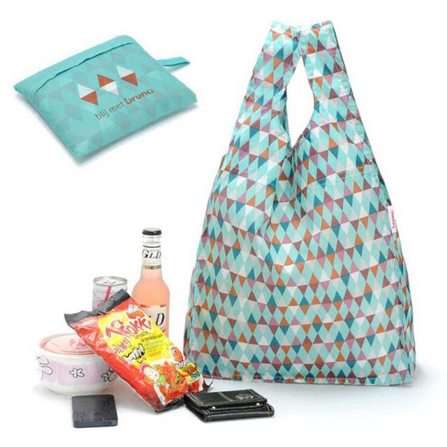 Eco foldable shopping bag large capacity portable printing bags supermarket bags environmental shopping bag economic(China (Mainland))