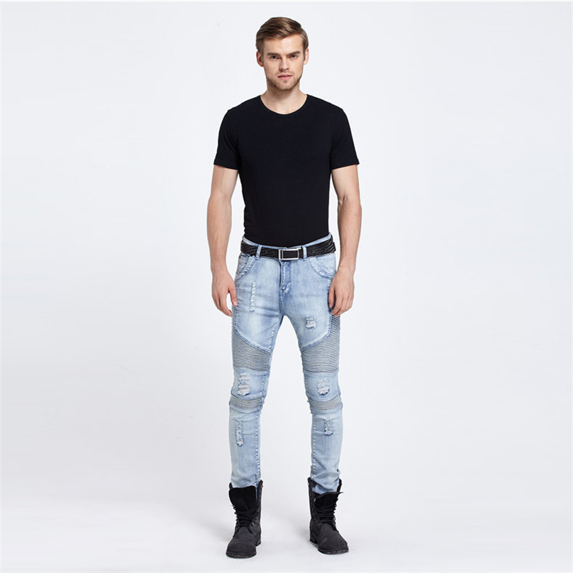Online Get Cheap Jeans Men Tight Stretch -Aliexpress.com | Alibaba ...