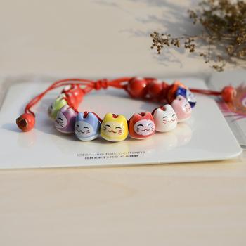 Керамика бусины браслеты лаки Cat ручной работы аксессуар ювелирные изделия подарки ...