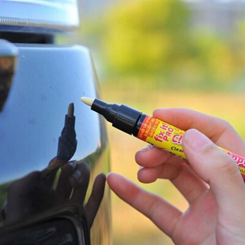 best quality Fix it Pro Car Scratch Repair Filler & Sealer Pen Clear Coat Applicator As Seen On TV Painting Pens Simoniz Remover(China (Mainland))