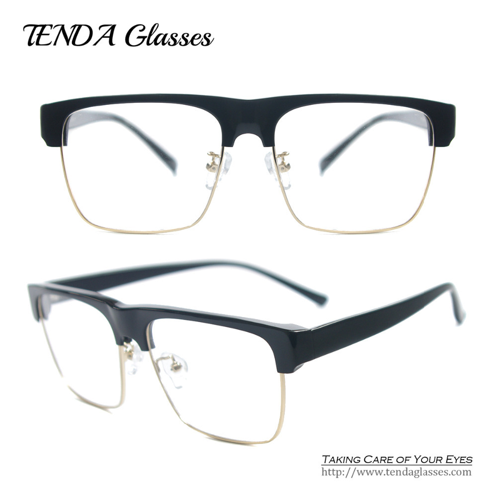 Big Frame Non Prescription Glasses : Acetate Vintage Square Glasses Frames Big Frame ...