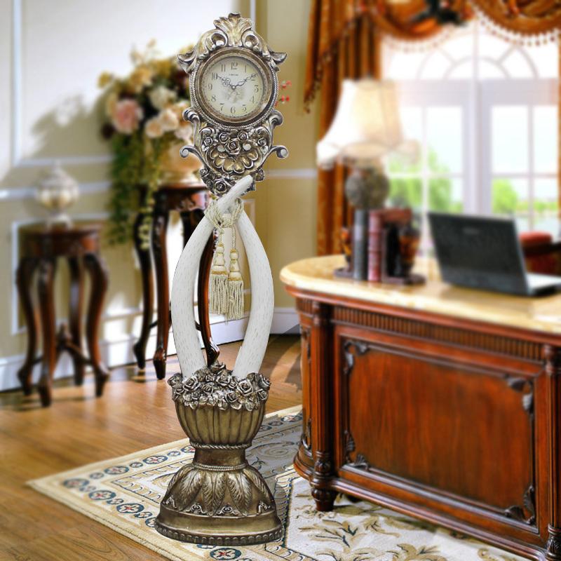 Lai sheng jixiang elephant grandfather clock modern for Modern living room clocks