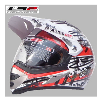 Free shipping LS2 MX433 cross-country motorcycle helmet helmet helmet full helmet winter helmet off-road car / high cost