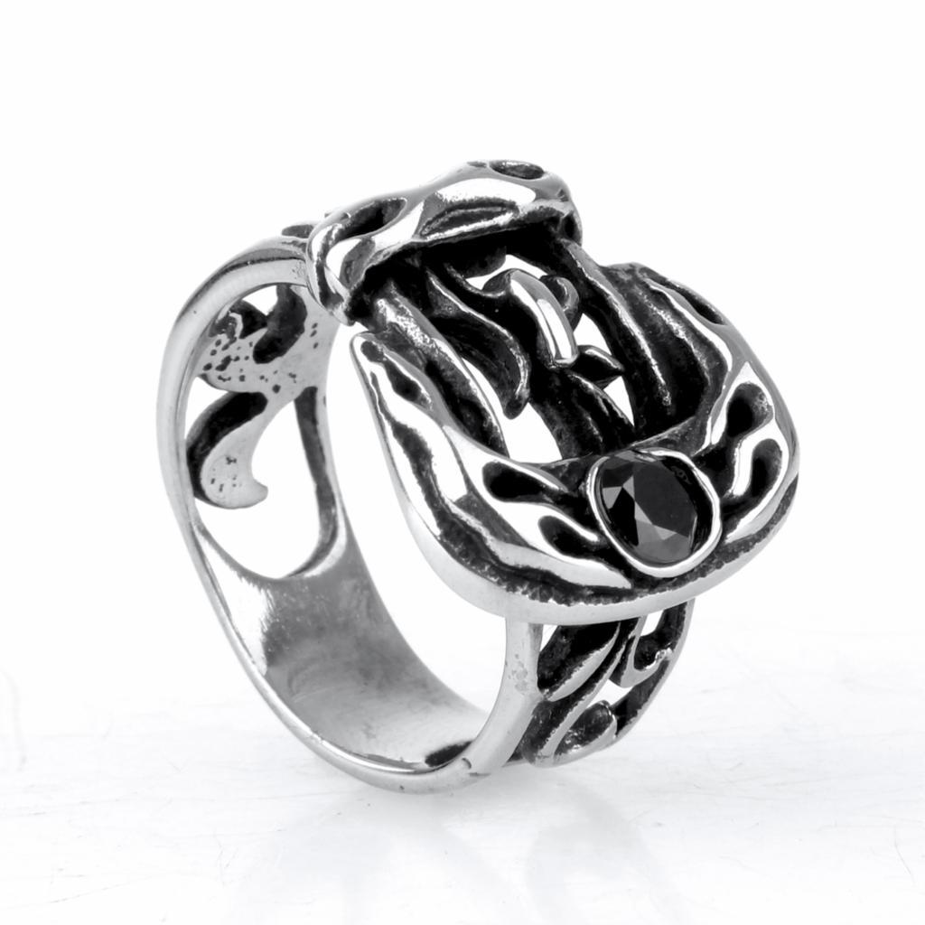 new 316l s ring titanium steel jewelry fashion