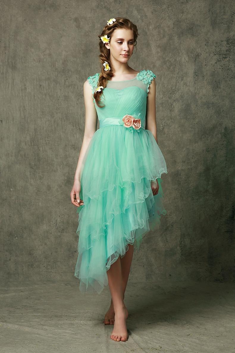 Emerald Green Bridesmaid Dresses Purple Short_Bridesmaid ...