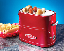Household automatic mini hot dog machine Breakfast machine Sausage machine A toaster toaster Bread maker multivarka