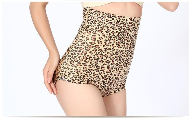 Горячая леопард нижней прикладом подъемник Shapwear батокс энхансерной бум лифт шейперы комбенизоны тепловая живота трусики обрезки