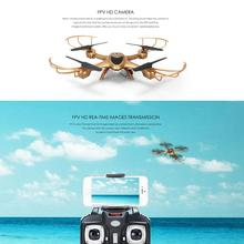 X401H FPV Real Time Transmission 2.4Ghz 4CH 6-Axis Gyro Quadcopter Aircraft Headless Mode Helicopter With Camera Drone RTF