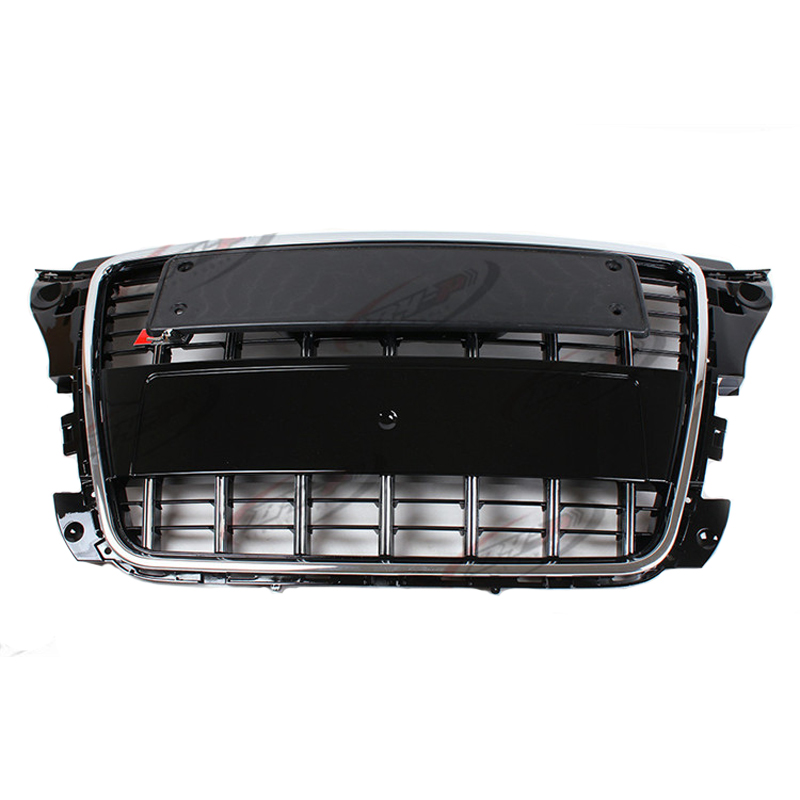 S3 Style Chrome Frame Black grill Front Bumper Middle Grill For Audi A3 2009-2012(China (Mainland))