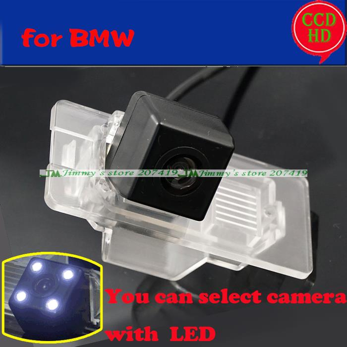 for sony CCD Car Rear Camera for BMW X1 X3 X5 X6 3 5 Series 335 320 535 530 328 Auto Backup Reverse Parking camera wire wireless(China (Mainland))