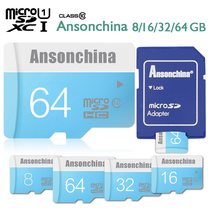 Pass H2testw Real capacity memory card 8gb micro sd card 16G 32GB 64GB class 10 microsd TF Card SD adapter(China (Mainland))