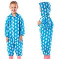 Yuding Children Raincoat Polyester Jacket Children Waterproof Rain Cover