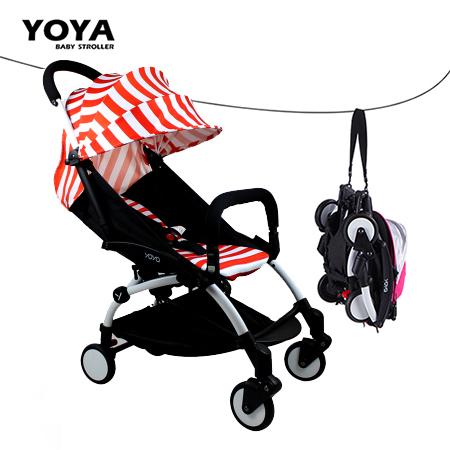 YOYA Folding Baby Umbrella Stroller Baby Car Kid Carriage Kid Buggy Baby Pram Style Like Babyzen YOYO,White Frame,5.8kg(China (Mainland))