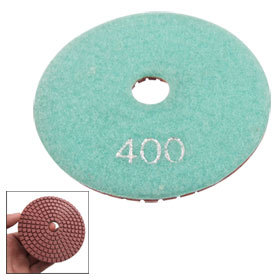 "4"" Inch Wet Dry Diamond Polishing Pad Disc 400 Grit for Granite Marble Stone(China (Mainland))"