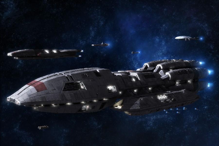 BATTLESTAR GALACTICA action adventure drama sci fi spaceship cloth silk art wall poster and prints(China (Mainland))