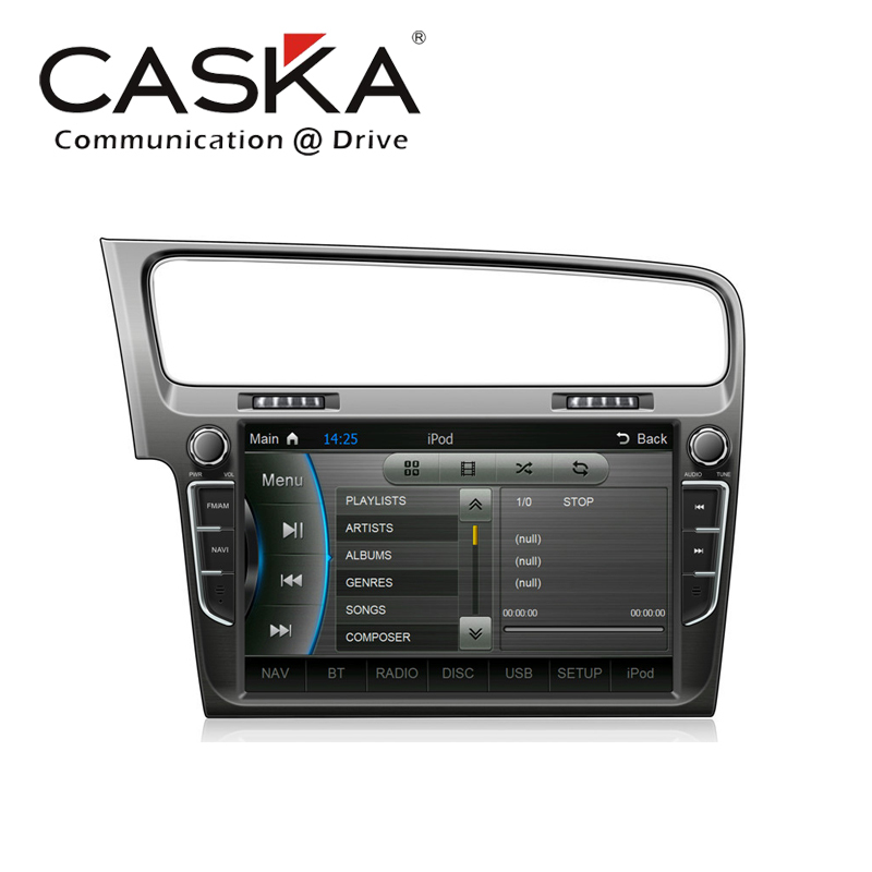 "2015 10 inches Caska OEM standard car in-dash system 10"" Car DVD Player For VW Golf 2013 & up GPS Multimedia Sygic Map WinCE 6.0(China (Mainland))"